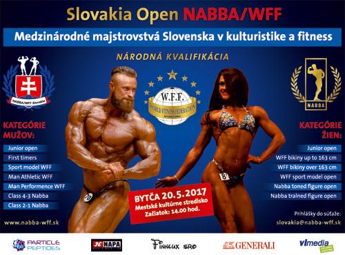 Slovakia Open NABBA/WFF