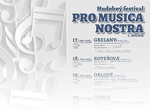 PRO MUSICA NOSTRA